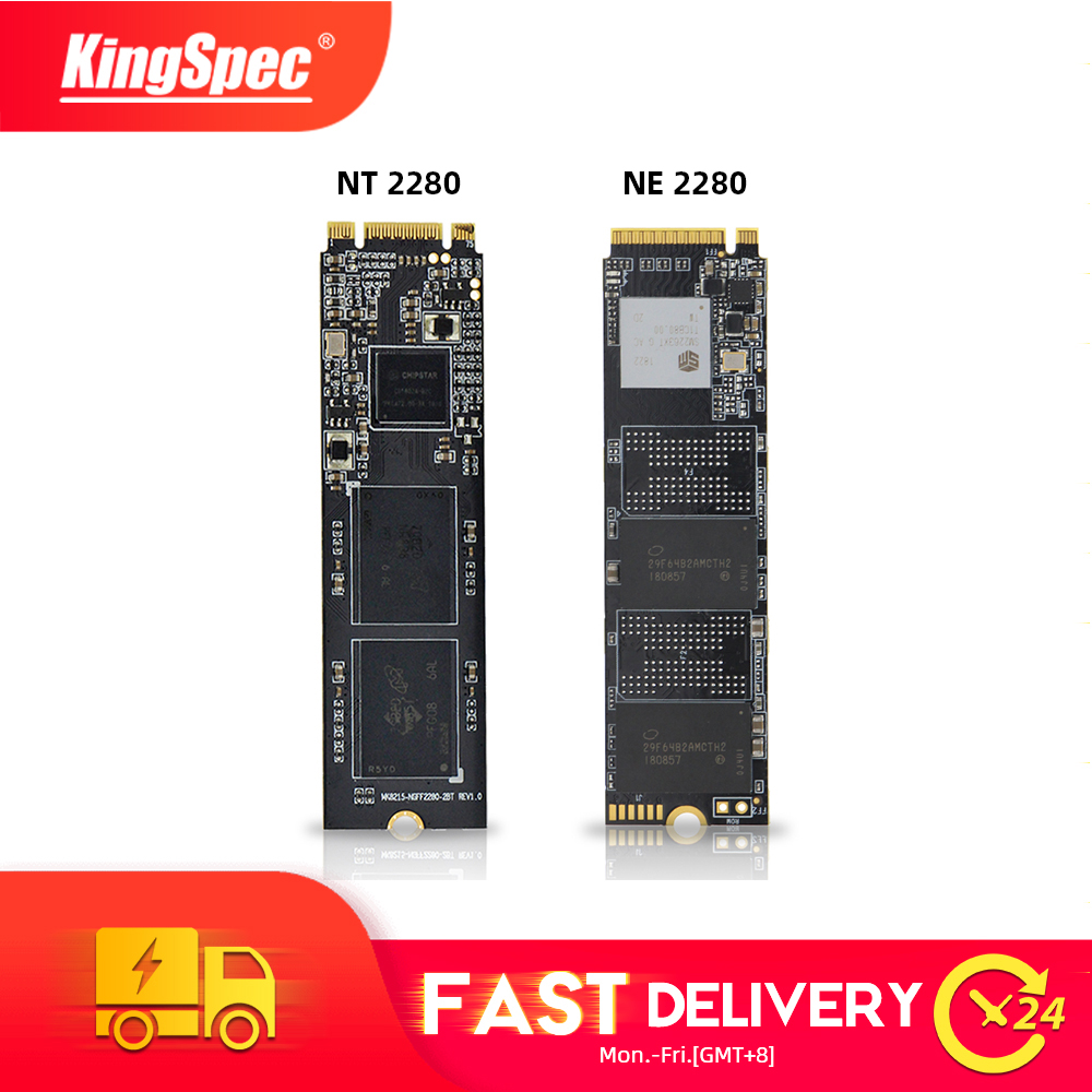 KingSpec M.2 2280 SATA NGFF & NVMe PCIe SSD ТБ 2 ТБ 512 ГБ 128 ГБ 256 ГБ ssd m2 ngff m.2 NVMe внутренний sdd для ноутбуков настольных ПК