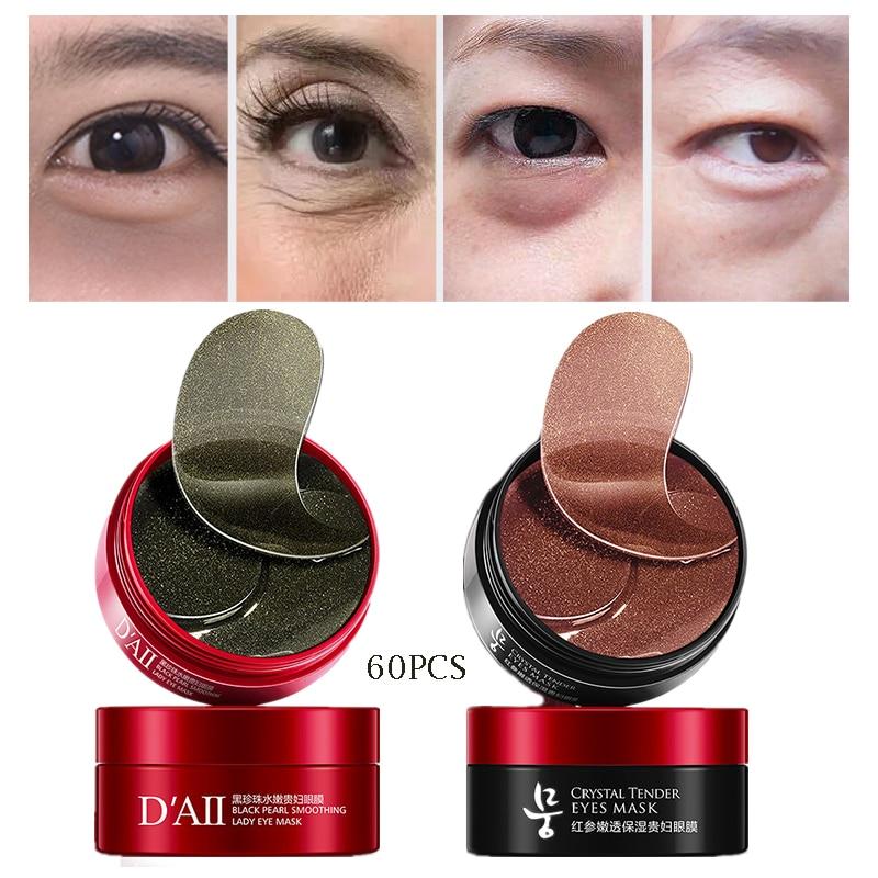 Patch-Eye-Bag Eye-Mask Ginseng Anti-Puffines Black Remove-Dark-Circles Pearl Collagen