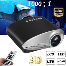 Newest 600Lumens Video Mini Projector With Full HD 1080p For Home Cinema Movie p