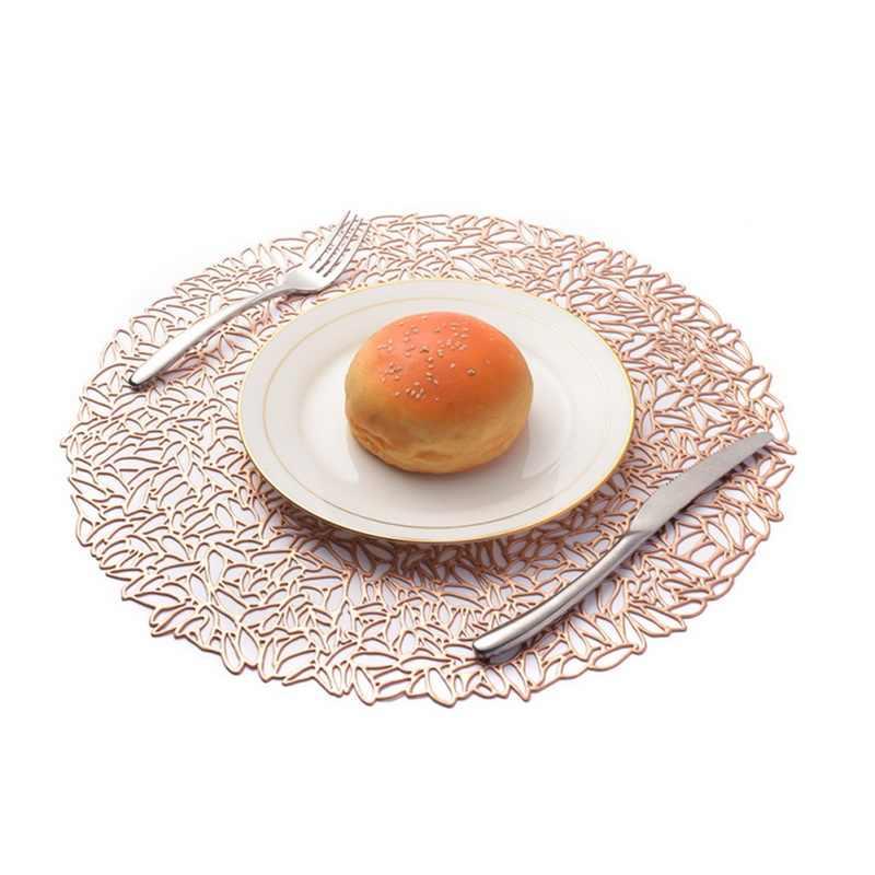 Natal Dekorasi Meja Tatakan Meja Makan Tatakan Gelas Tahun Baru Meja Pernikahan Dekorasi Makan Malam Mat Dapur Aksesoris