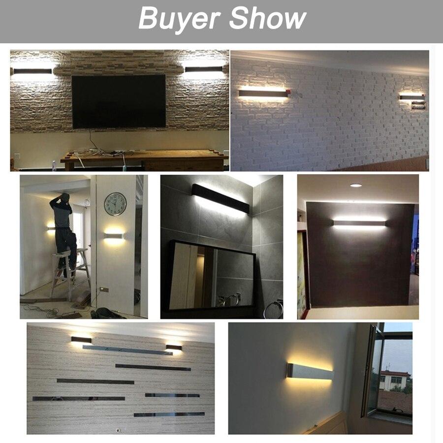 aluminum led wall lamp