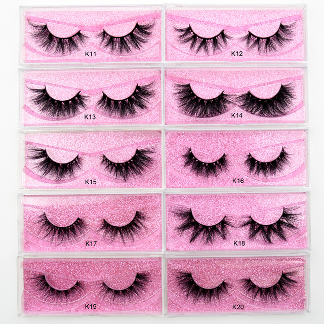 Visofree 5D Mink Eyelashes Long Lasting Mink Lashes Natural Dramatic Volume Eyelashes Extension Thick Long 3D False Eyelashes 2