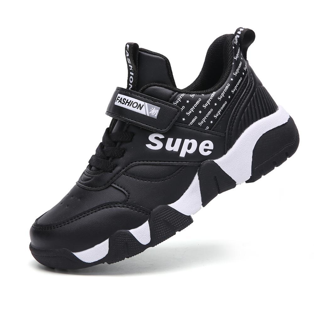 2019 Autumn Winter Children Sneakers Kids Shoes For Boys Sport Trainer Outdoor Leather Running School Shoes Kinderschoenen
