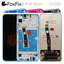 FoxFix Display For Huawei Honor 10i LCD Display Touch Screen For Honor 10i 20i Display With Frame Mobile Phone LCD Replacement