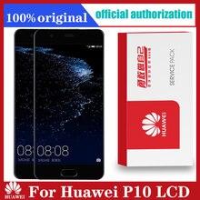 """5.1 """"esposizione originale con la sostituzione della struttura per il VTR L09 VTR L10 dellassemblea del convertitore analogico/digitale del Touch Screen di Huawei P10"""