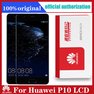 Image 1 - Original 5.1 Display with Frame Replacement for Huawei P10 LCD Touch Screen Digitizer Assembly VTR L09 VTR L10 VTR L29