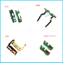 Original USB Charger Dock Connector Charging Port Microphone Flex Cable For Alcatel 8020 8030 7047 Swipe elite plus(China)
