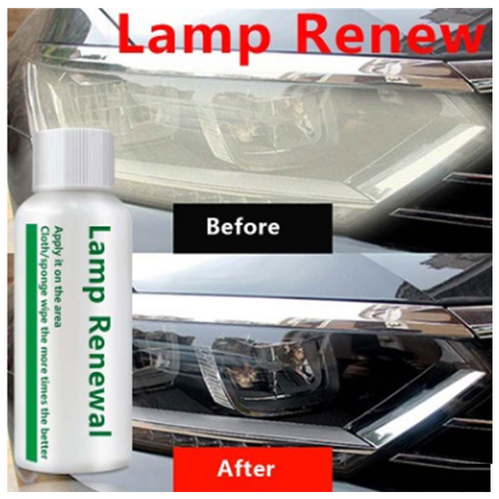 Auto Car Accessories Polishing Headlight Agent Bright White Headlight Repair Lamp Cleaning Window Glass Cleaner