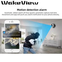 WakeView Wireless Mini WIFI IP Camera HD 960P Smart Home Security Camera IR Night Vision Network Two Way audio Wireless Camera wireless wifi two way intercom ip camera with ap mode 720 960p optional