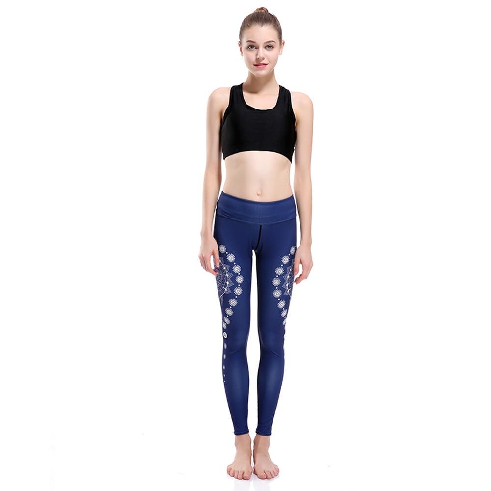 Black Gypsy Water Drop Show Slim Hip Raising S Breathing Nine Points Lady Pants In 2019 Leggings