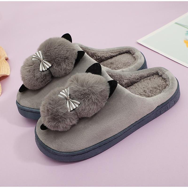 cat slippers kids