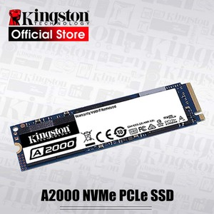 Image 1 - Kingston Internal Solid State Hard Disk 250G 500G 1TB  A2000 NVMe PCIe M.2 2280 SSD NVMe SSD For PC Notebook Ultrabook