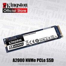 Kingston disco duro interno de estado sólido, 250G, 500G, 1TB, A2000, NVMe, PCIe, M.2, 2280 SSD, NVMe, SSD para PC, Notebook, Ultrabook