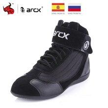 ARCX bottes de Moto pour hommes, chaussures de randonnée, pour lété, respirantes, pour la Moto, Cruiser Chopper, chaussures de randonnée, #