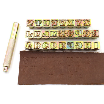 26pcs/set A-Z  English Letter Alphabet Stamping Punch Set Metal Leather Tool Leather craft Alphabet Stamps Leather Tools Leather