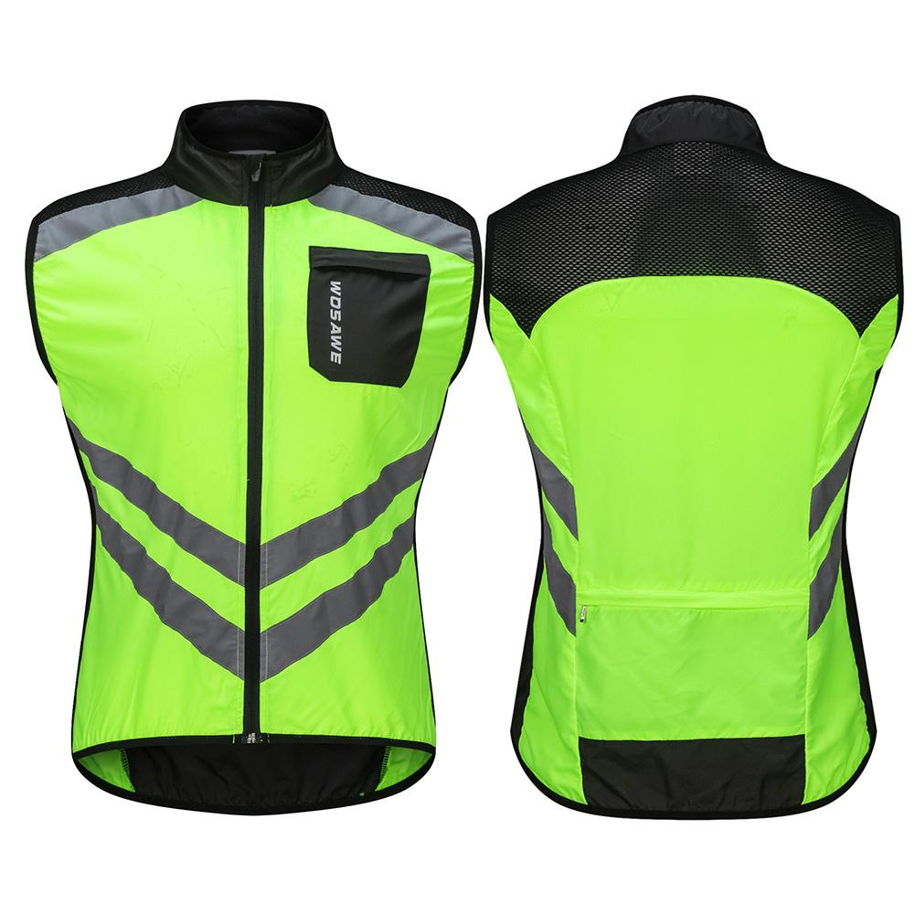 2019 NEW Cycling Motorcycle Reflective Vest Motorbike Safety Clothes Reflective Windproof Cycling Vest Reflective