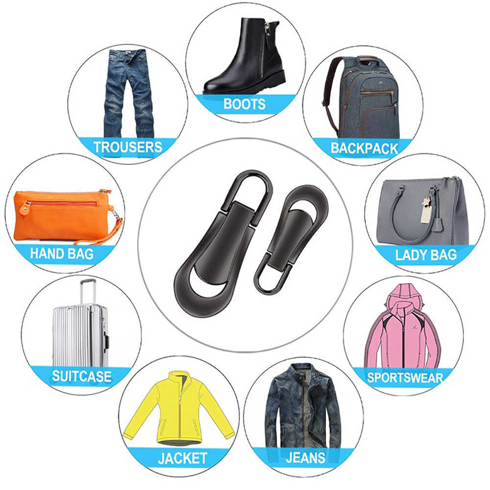 Backpack #5,16pcs Bags Luggage Universal Detachable Zipper Puller Set,Replacement U Shape Zipper Pull,for Suitcase Clothes