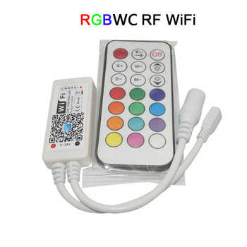 RGB / RGBW Controller Mini Wireless WIFI LED RF Remote Control IOS/Android Smart Phone for RGBCW/RGBWW RGB LED Strip,DC12-24V - DISCOUNT ITEM  32% OFF All Category