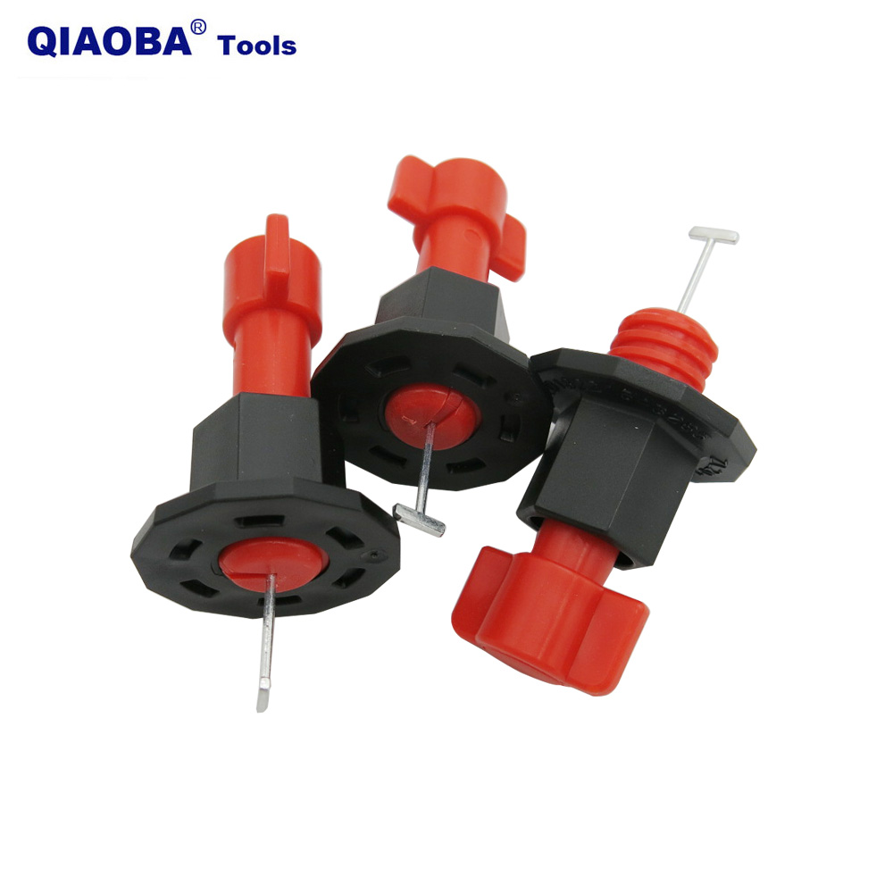 100% Reusable Tile Auto Leveling System Leveler T-lock For Floor Wall