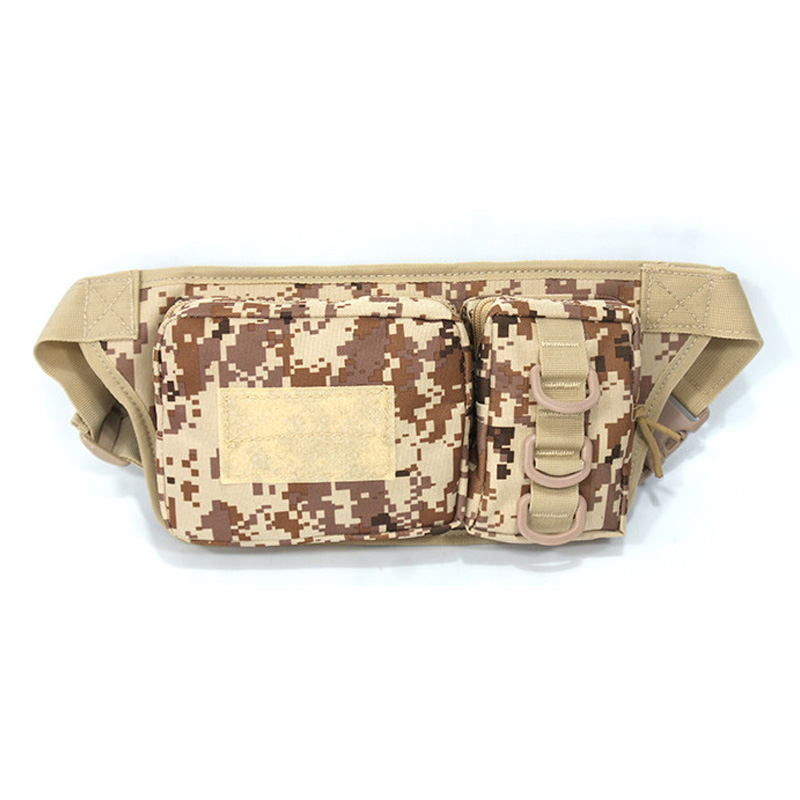 Waistpack 600D Oxford Bag Waist Bag Camouflage Hunting Hiking Bag Multi Function Waist Tools Pocket