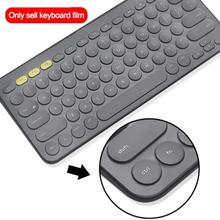 Ultra Thin Laptop Keyboard Cover Skin Suitable for Logitech K 380 Wireless Silicone Protective Film Case