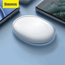 Chargeur sans fil Baseus gelée 15W chargeur sans fil Qi rapide pour iPhone Airpods Pro chargeur rapide sans fil chargeur de téléphone