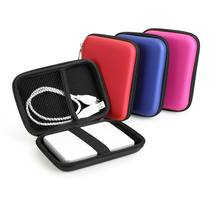 "2.5"" HDD Bag Drive Disk Mini Usb Cable External USB Hard Cover Pouch Earphone Memory Card Hard Disk power bank Coin Case Bag(China)"