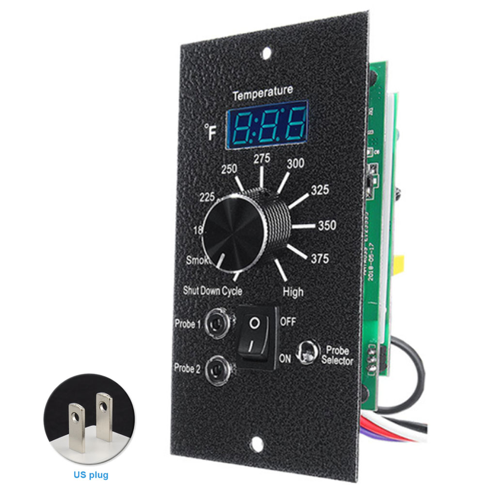 Kitchen Thermostat Control Board Durable Replacement Tools Parts Digital Display Practical Fireplace With Plug Wood Pellet Oven