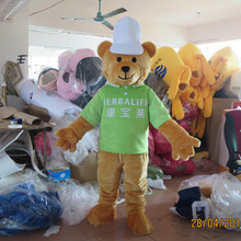 High quality hot bear mascot costume cartoon express adult size