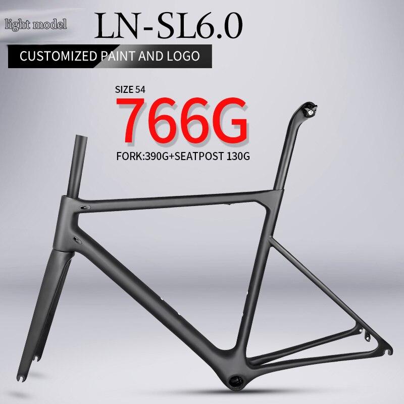 T1000 super leve bicicleta de estrada de carbono quadro 766g Chinês BB86 framest fibra de carbono quadro de bicicleta de corrida de alta qualidade interna cabo