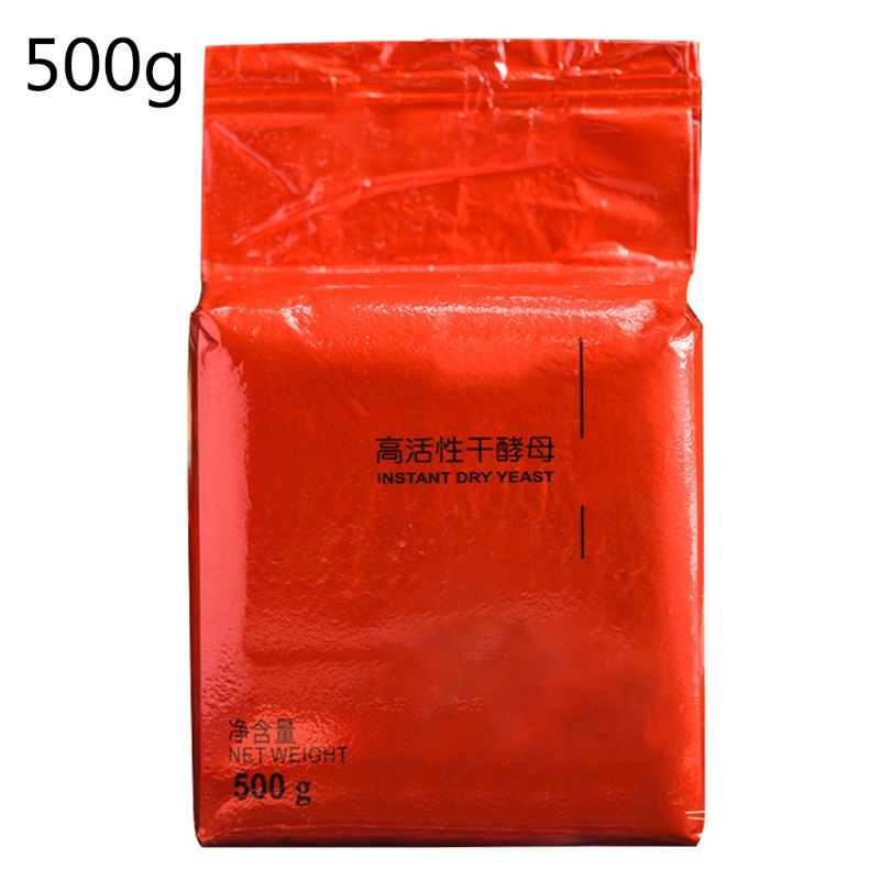 500g Bread Yeast High Active Dry Yeast Low Sugar Kitchen Baking Supplies