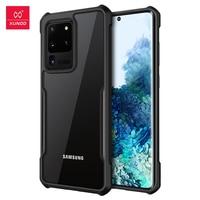 Xundd-funda a prueba de golpes para teléfono móvil, carcasa transparente a prueba de golpes para Samsung S20 Plus Ultra S20FE S20 +