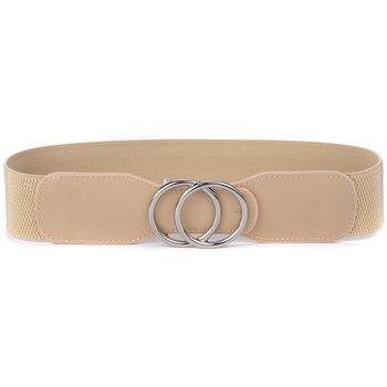 Ζώνη Γυναικεία Με Αγκράφα Διπλό Δαχτυλίδι Από Κράμα Αλουμινίου