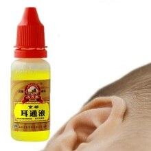 15ml Oor Acute Otitis Druppels Chinese Kruidengeneeskunde voor Oor Tinnitus Doofheid Pijnlijke Persoonlijke Gezondheidszorg Producten