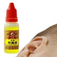 Gouttes pour otite aiguë, 15ml, médecine chinoise à base de plantes pour loreille, acouphènes, produits de soins de santé personnels