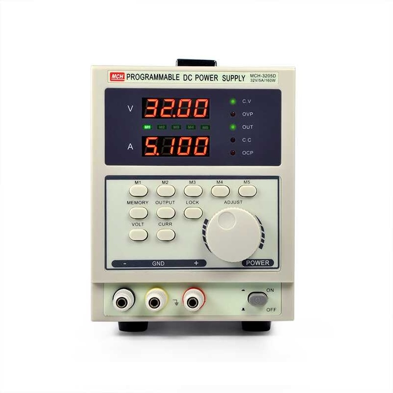 MCH-3205D affichage à 4 chiffres programmable linéaire DC alimentation 32V 5A réglable DC alimentation réparation
