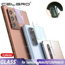 Szkło hartowane do Samsung Galaxy Note 20 Ultra S20 Plus szklana osłona obiektywu do Samsung Note20 5G uwaga 10 Plus S10 Film