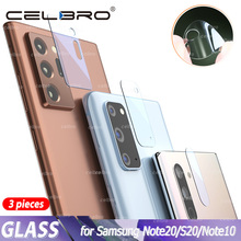 Tempered Glass for Samsung Galaxy Note 20 Ultra S20 Plus Glass Camera Lens Protector for Samsung Note20 5G Note 10 Plus S10 Film