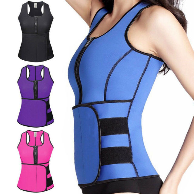 Hot Sell Women Corset Sauna Sweat Gym Waist Trainer Vest Shaper Slim Adjustablet Belt Corset Women's Shapewear