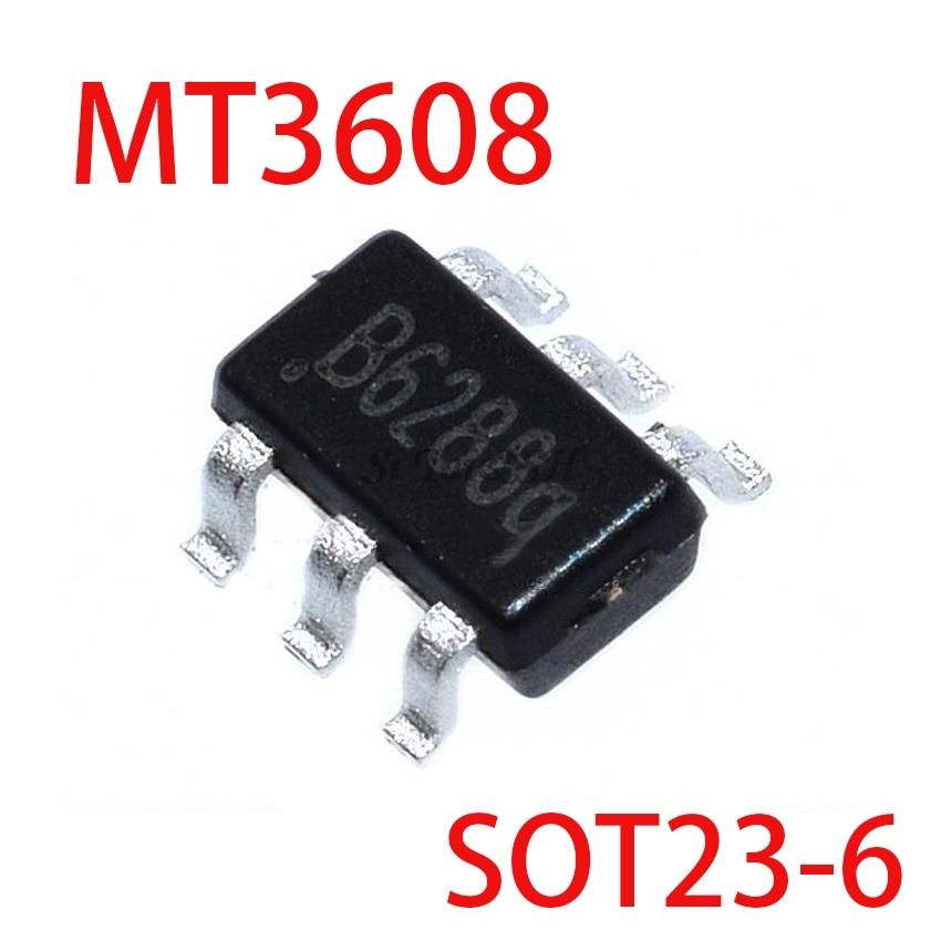 10PCS MT3608 SOT23 FM3608 3608 SOT23-6