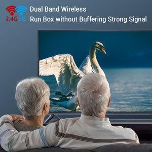 Image 5 - וtranspeed 6k טלוויזיה תיבת אנדרואיד 9.0 4GB RAM 32GB Google קול עוזר טלוויזיה תיבת מהיר Wifi Youtube 6K 3D Top Box Media Player