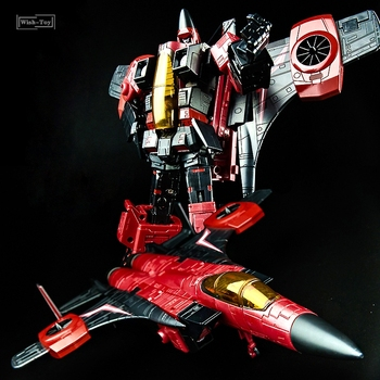 KBB Transformation MP11 MP-11 Ramjet F15 Thrust DIRGE Fighter Oversize KO Masterpiece Alloy Action Figure Robot Toys