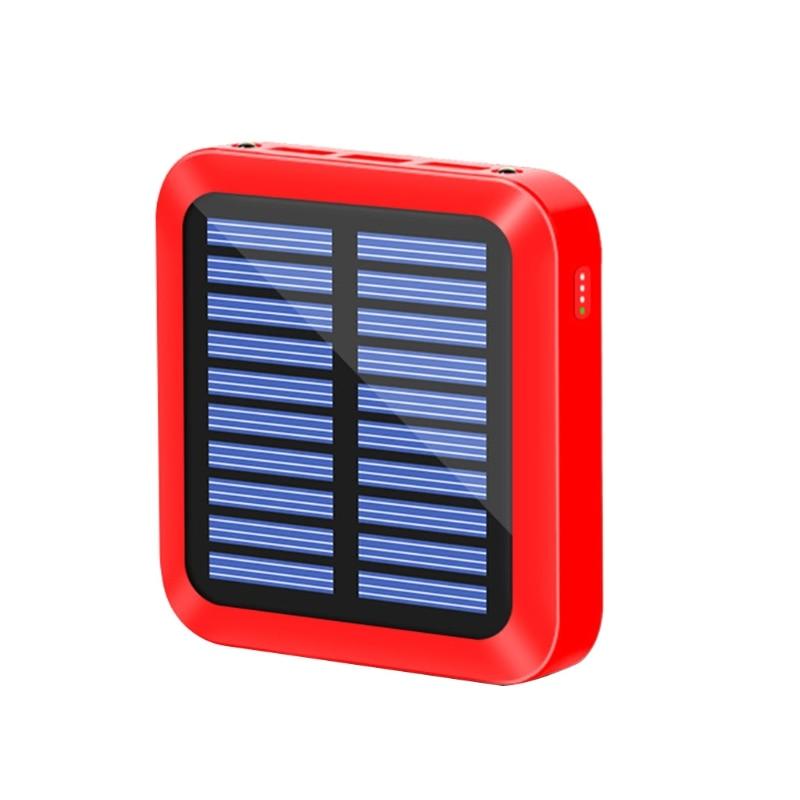 Mini banco de energia solar portátil 10000