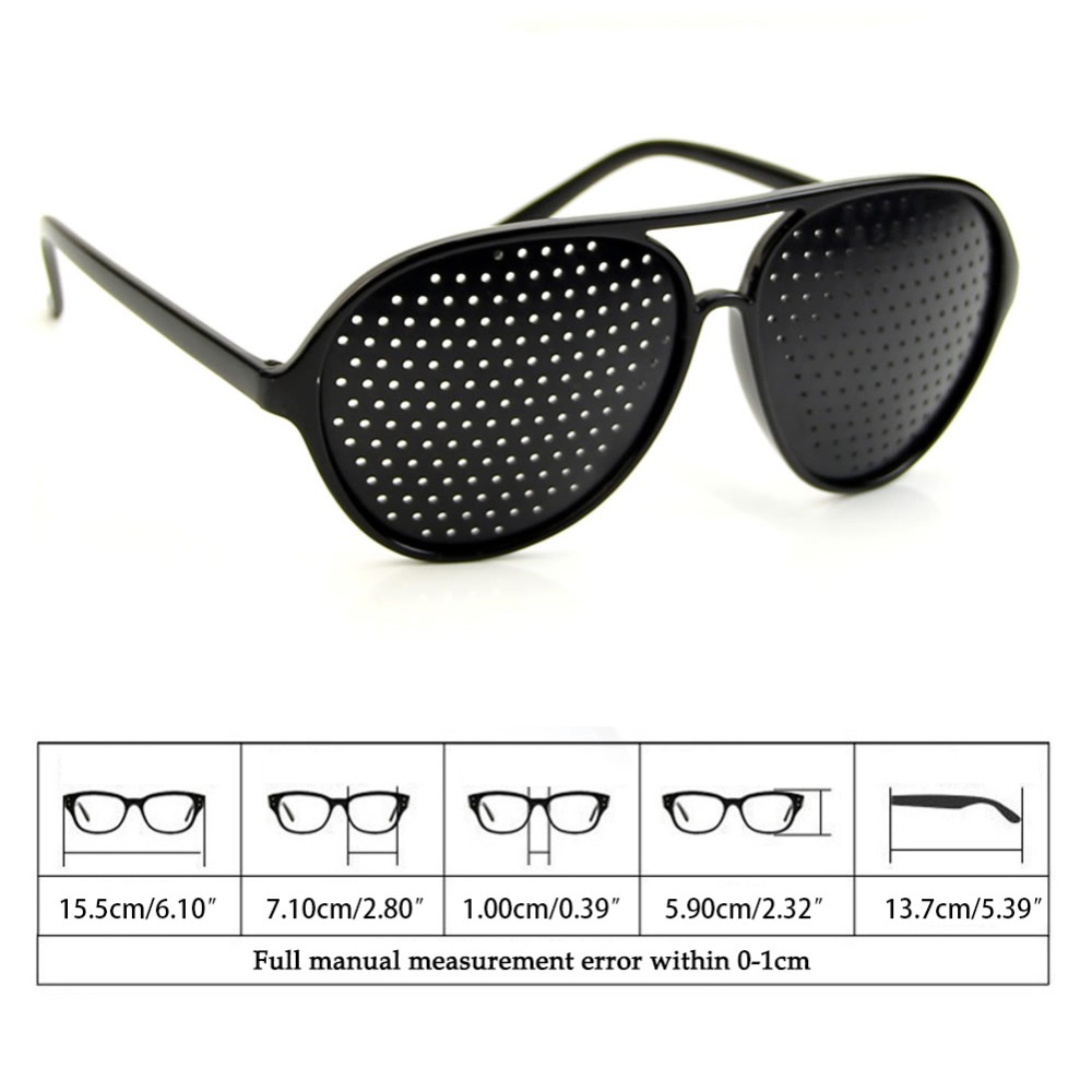 Cool Care Vision Improver Anti-fatigue Stenopeic Pinhole Glasses
