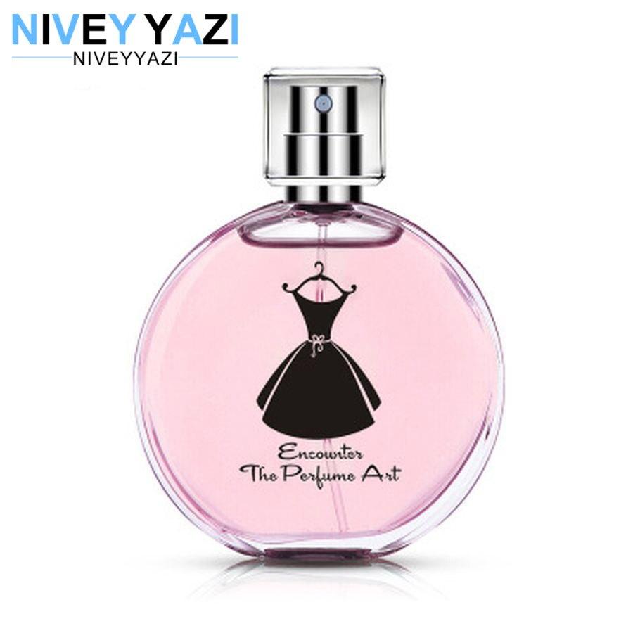 Women Perfumed Atomizer Glass Bottle Lady Long Lasting Original Fragrance Deodorant Parfum Women Pheromone Perfume Body Spray