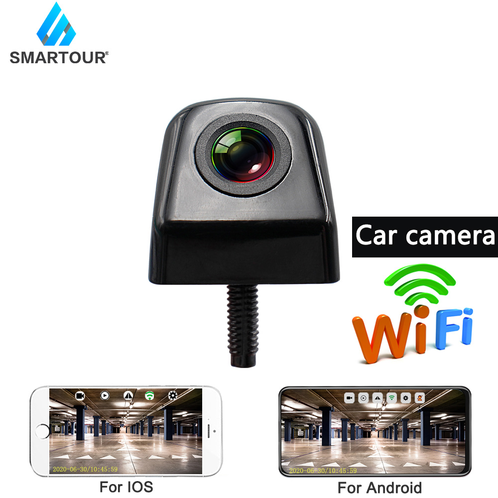 Wireless Car Rear View Camera WIFI Reversing Camera Dash Cam Star Night Vision Mini Body Tachograph for iPhone and Android Phone