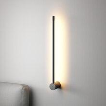 Скандинавский минималистичный Стильный современный настенный светильник для гостиной, спальни, комнаты, индивидуальный Креативный светодиодный настенный светильник для коридора