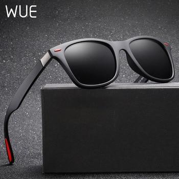 Classic polarized sports sunglasses men and women brand fashion square frame UV400