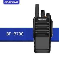 cb רדיו Baofeng מכשיר הקשר BF 9700 Waterproof שני הדרך רדיו UHF 400-520MHz כף יד Ham Hf משדר BF 9700 CB רדיו תחנת (1)