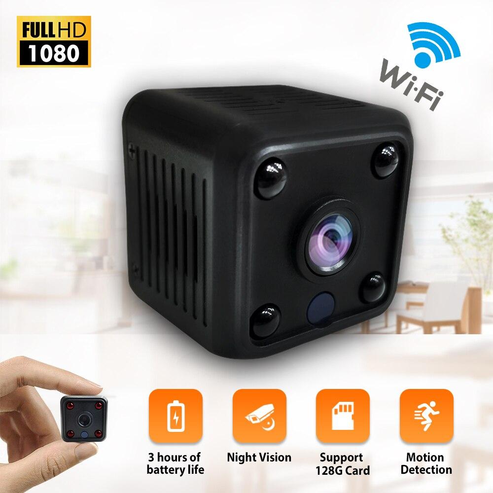 Mini Camera HD 1080P Sensor Night Vision Camcorder Indoor Micro Camera DC 5v Powered Video Surveillance Camera-in Surveillance Cameras from Security & Protection